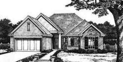 Traditional Style Home Design Plan: 8-211