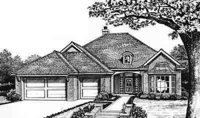 Traditional Style Floor Plans Plan: 8-214