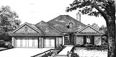 Traditional Style House Plans Plan: 8-216