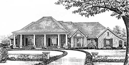 Southern Style Floor Plans Plan: 8-224