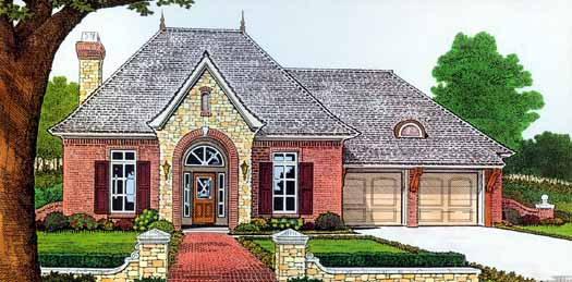 Traditional Style Floor Plans Plan: 8-227