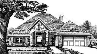 Traditional Style Floor Plans Plan: 8-228