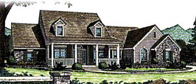 Southern Style Floor Plans Plan: 8-230
