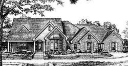 Country Style Floor Plans Plan: 8-235