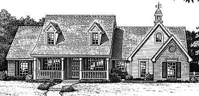 Southern Style House Plans Plan: 8-237