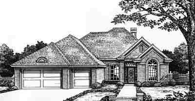 Traditional Style House Plans Plan: 8-241