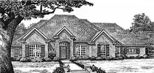 Traditional Style Floor Plans Plan: 8-242