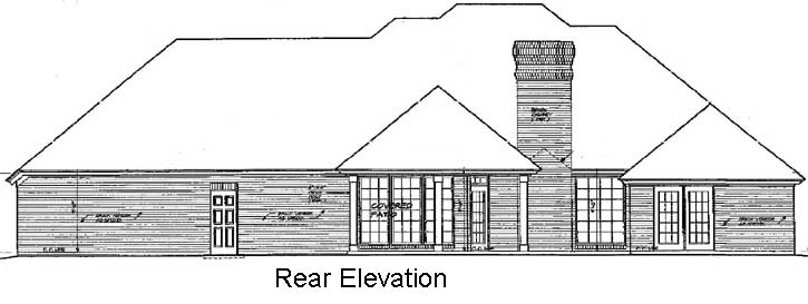 Rear Elevations Plan:8-242
