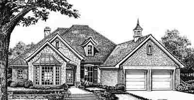 Traditional Style House Plans 8-248