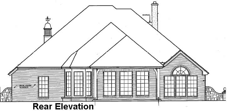 Rear Elevation Plan: 8-248