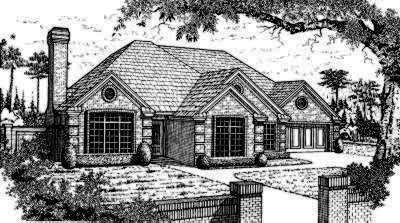 Traditional Style Floor Plans Plan: 8-249