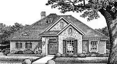Traditional Style House Plans Plan: 8-250