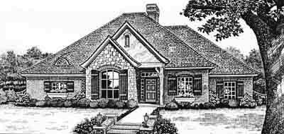 Traditional Style Floor Plans Plan: 8-257
