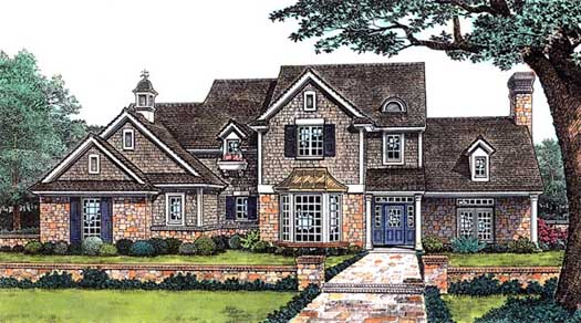 Traditional Style Floor Plans Plan: 8-259