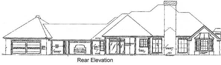 Rear Elevation Plan: 8-264
