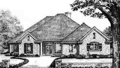 Traditional Style House Plans Plan: 8-266