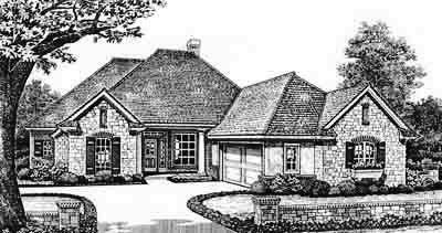 Traditional Style Floor Plans Plan: 8-267