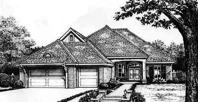 Traditional Style House Plans Plan: 8-278