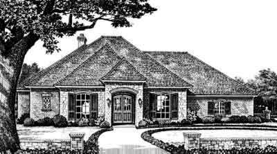Traditional Style House Plans Plan: 8-282