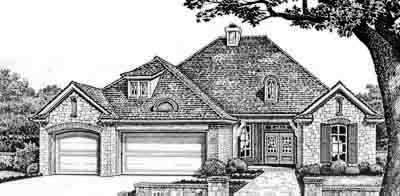 Traditional Style House Plans Plan: 8-284