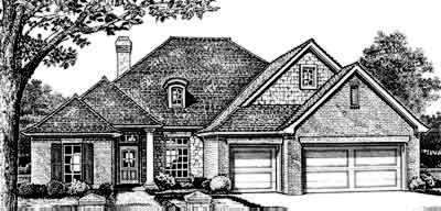 Traditional Style Floor Plans Plan: 8-285