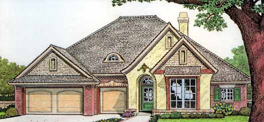 European Style Floor Plans Plan: 8-290