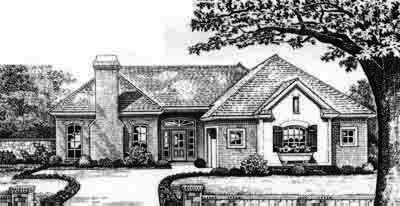 Traditional Style House Plans Plan: 8-306