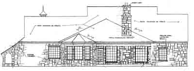 Rear Elevation Plan: 8-310