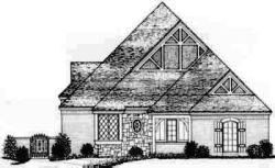 English-Country Style Floor Plans Plan: 8-312