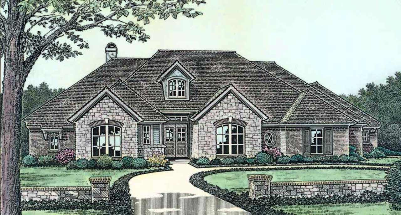 Traditional Style House Plans Plan: 8-315