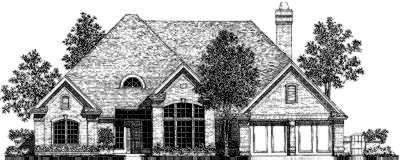 Traditional Style Floor Plans Plan: 8-317