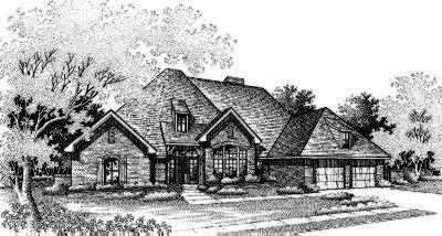 Traditional Style Floor Plans Plan: 8-318