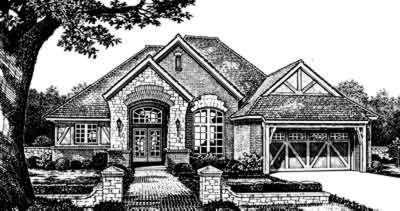 European Style Home Design 8-330