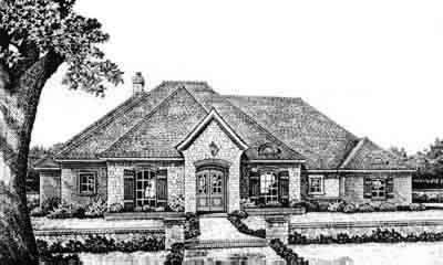 Traditional Style House Plans Plan: 8-335
