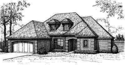Traditional Style House Plans Plan: 8-350