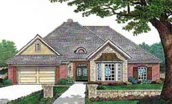Traditional Style House Plans Plan: 8-351