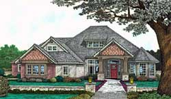 Craftsman Style Floor Plans Plan: 8-357