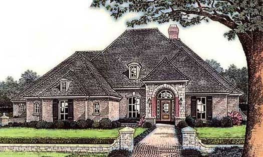 Traditional Style Floor Plans Plan: 8-361