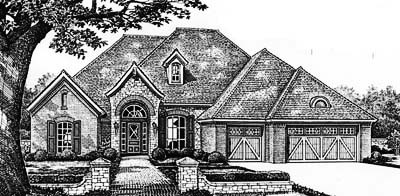 Traditional Style Floor Plans Plan: 8-368