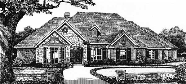 Traditional Style Floor Plans Plan: 8-370