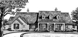Country Style House Plans Plan: 8-373