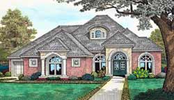 European Style House Plans 8-376