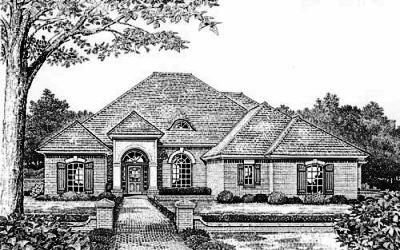 Traditional Style House Plans Plan: 8-384
