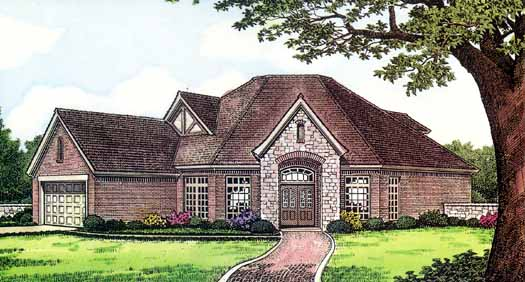 Traditional Style Floor Plans Plan: 8-386