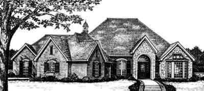 Traditional Style Floor Plans Plan: 8-391