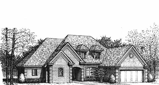 Traditional Style Floor Plans Plan: 8-392