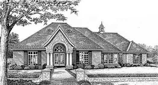 Traditional Style Floor Plans Plan: 8-395