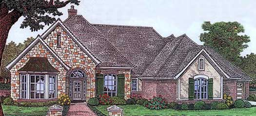 Traditional Style Floor Plans Plan: 8-404