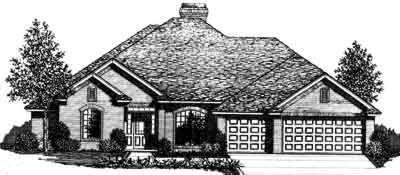 Traditional Style House Plans Plan: 8-409
