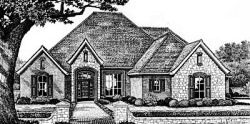 European Style Floor Plans Plan: 8-410